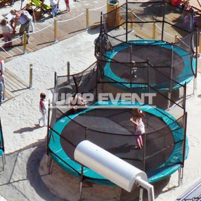 Round Trampoline - Safety Net - 3m30